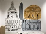 Graphic Design Wall Murals Shop Made In Dc Mural