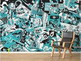 Graphic Design Wall Murals the Wallery Artwork that Doesn T Require A Frame