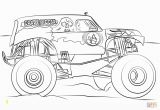 Grave Digger Monster Truck Coloring Pages Grave Digger Monster Truck Coloring Page
