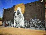 Great Mural Wall Of topeka Jesus Saves by Francisco Enuf Garcia 15th Ave & Fillmore