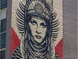 Great Wall Mural Los Angeles Street Art by Shepard Fairey Street Art