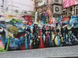 Great Wall Of China Mural the Best Street Art In Hong Kong