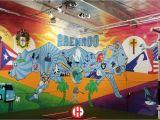Great Wall Of La Mural Vivache Designs Mural Painter Muralist
