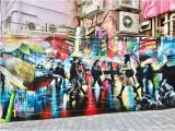 Great Wall Of Los Angeles Mural the Best Street Art In Hong Kong
