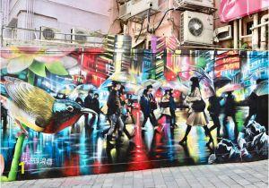 Great Wall Of Los Angeles Mural the Best Street Art In Hong Kong