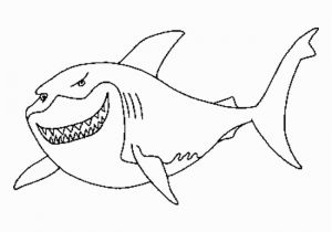 Great White Shark Coloring Pages Shark Color Page Courtoisieng