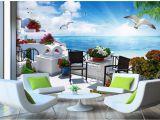 Greek Murals for Walls European Romantic and Warm Hd Wall Mural Greek Love Sea Tv