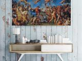 Greek Murals for Walls the Ancient Greek Myth Painting Canvas Print Cupid Wall Art Artwork