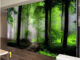 Green forest Wall Mural Details About Dream Mysterious forest Full Wall Mural