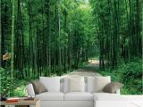 Green forest Wall Mural Us $8 88 Off Customized Size 3d Green Bamboo forest Wallpapers Roll for Living Room Home Decor Non Woven Nature Landscape Wall Paper In