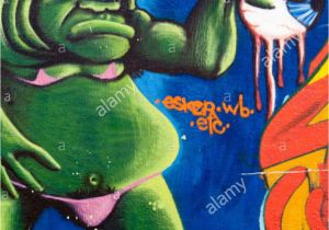 Green Monster Wall Mural Green Monster Stock S & Green Monster Stock Alamy