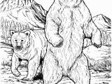 Grizzly Bear Coloring Pages Angry Grizzly Bear Coloring Pages Free & Printable Coloring