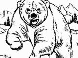 Grizzly Bear Coloring Pages Grizzly Bear Coloring Pages