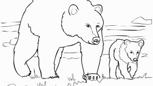 Grizzly Bear Coloring Pages Grizzly Bears Coloring Pages