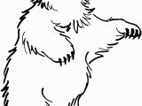 Grizzly Bear Coloring Pages Realistic Bear Coloring Pages Free Coloring Library