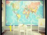Groupon Wall Mural 18 Best Map Wallpaper Images