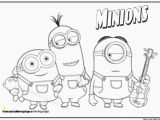 Gru Coloring Page Minions Coloring Pages Kevin is E the Gru S Minions and He is