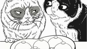 Grumpy Cat Coloring Pages Wel E to Dover Publications Grumpy Cat Coloring Book Grumpy