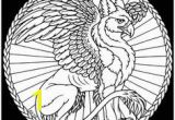 Gryphon Coloring Pages 40 Best Gryphon Images