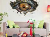 Guardians Of the Galaxy Wall Mural 3d Big Dinosaur S Eye Wall Sticker Decal Art Decor Vinyl