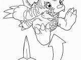 Guilmon Coloring Pages Digimon Coloring Pages