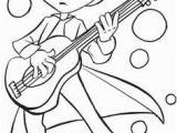 Guitar Player Coloring Page 1469 Best Coloring Pages Images On Pinterest In 2019