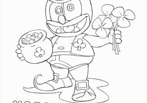 Gummy Bear song Coloring Pages Gummibär St Patrick S Day Coloring Page Gummibär