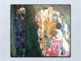 Gustav Klimt Wall Murals Death and Life Vintage Gustav Klimt Painting