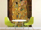 Gustav Klimt Wall Murals Gustav Klimt Kunst Kuss Fototapete