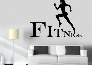 Gymnastics Wall Murals Gymnastics Wall Decals Trend Wall Decal Fitness Girl Gym Woman Sport