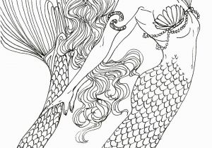 H20 Mermaid Coloring Pages Detailed Coloring Pages Inspirational Detailed Mermaid Coloring