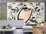 Hair Salon Wall Murals Custom Any Size 3d Wallpaper for Living Room Bedroom Wall