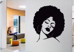 Hair Salon Wall Murals Wall Window Decal Sticker Barber Shop Man Salon by Bestickershop