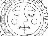 Half Moon Coloring Page 161 Best Sun Moon and Stars Coloring Images On Pinterest