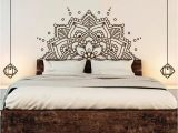 Half Size Wall Murals Half Mandala Wall Sticker with Multiple Color & Size