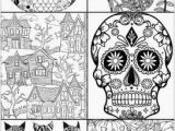 Halloween Adult Coloring Page Beautiful Coloring Pages to Color Line for Free for Adults