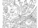 Halloween Adult Coloring Page Halloween Adult Coloring Book Pdf Coloring Pages Digital