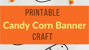 Halloween Candy Corn Coloring Page Grab This Cute Printable Candy Corn Banner Craft for Kids A
