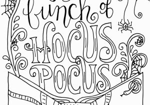 Halloween Coloring Pages Disney Characters Hocus Pocus Coloring Page with Images