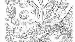 Halloween Coloring Pages for Adults Pdf Halloween Adult Coloring Book Pdf Coloring Pages Digital
