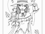 Halloween Coloring Pages to Print for Adults Autumn Fantasy Coloring Book Halloween Witches Vampires and