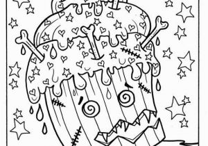 Halloween Cupcake Coloring Pages Halloween Cupcakes Part 2 Printables Adult Coloring Fun