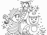 Halloween Dot to Dot Coloring Pages Halloween Costumes Dot to Dot Game Coloring Pages