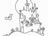 Halloween Dracula Coloring Pages Ausmalbilder Für Halloween Mit Dem Dracula Schloss