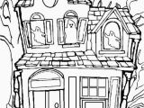 Halloween Haunted House Coloring Pages 25 Awesome Image Of Haunted House Coloring Pages