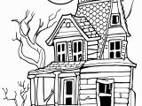 Halloween Haunted House Coloring Pages Free Happy Halloween Coloring Pages Download Free Clip Art
