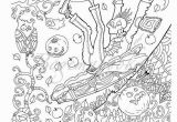 Halloween Horror Coloring Pages Halloween Adult Coloring Book Pdf Coloring Pages Digital