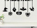 Halloween Wall Mural Ideas Halloween Pumpkin Ghost Bat Spider Wall Decals Window