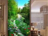 Hallway Wall Murals Custom Mural Wallpaper 3d forest Path Nature Scenery Painting Fresco