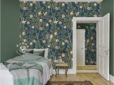 Hand Painted Bedroom Wall Murals Hand Painted Pomegranate Tree Wallpaper Wall Mural American